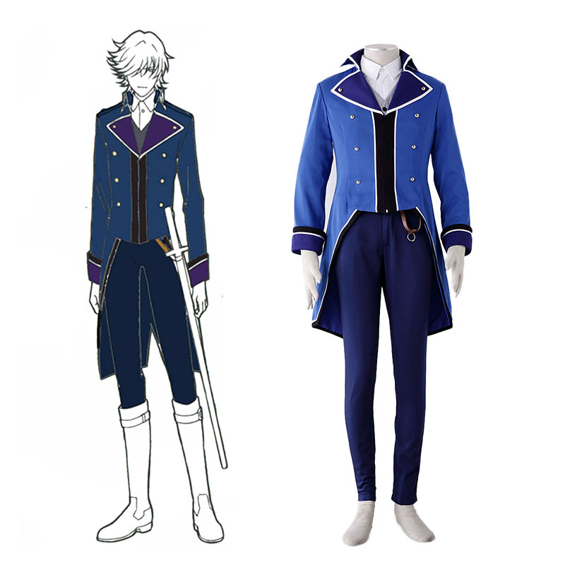 Déguisement Cosplay K Blue Organization Uniforms Boutique de France