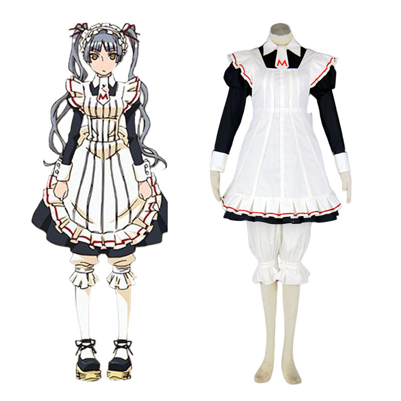 Déguisement Cosplay Maria Holic Matsurika Shinōji Maid Cosplay CostumeBoutique de France
