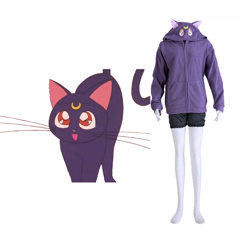 Déguisement Cosplay Sailor Moon Noir Cat Luna Boutique de France