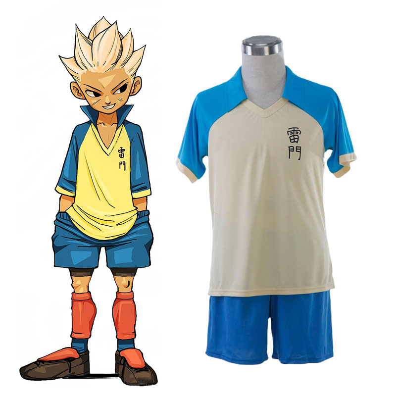 Déguisement Cosplay Inazuma Eleven Raimon Summer Soccer Jersey 1 Boutique de France