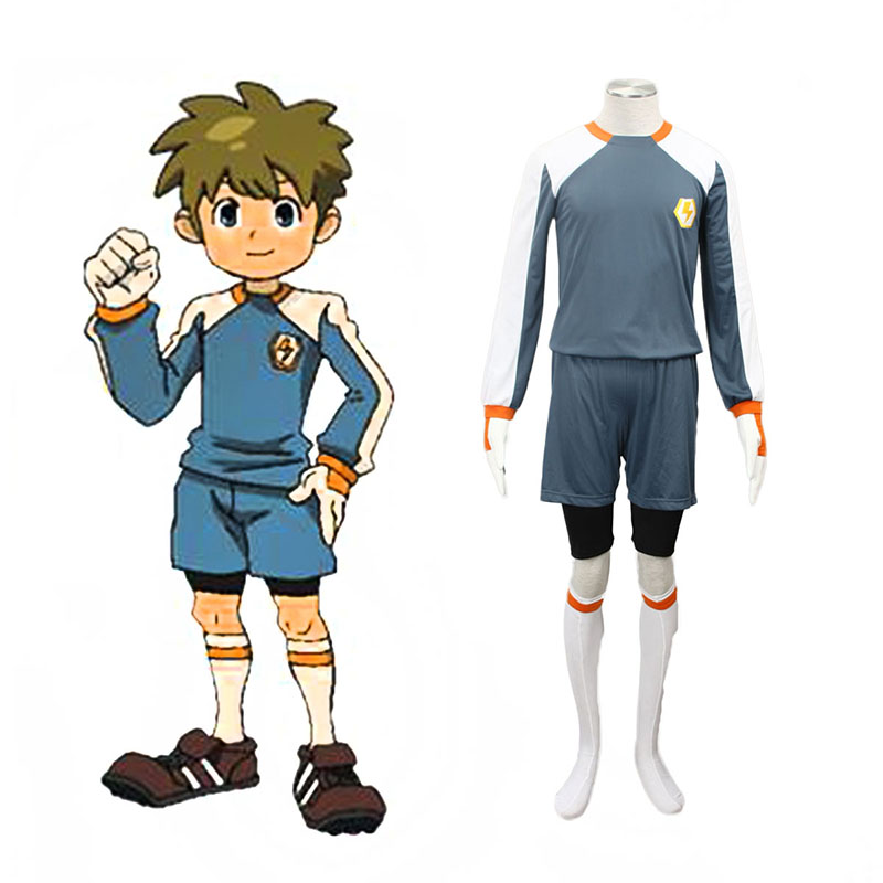 Déguisement Cosplay Inazuma Eleven Raimon Goalkeeper Soccer Jersey 2 Boutique de France