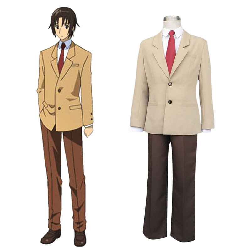 Déguisement Cosplay Seitokai Yakuindomo Tsuda Takatoshi 1 Boutique de France