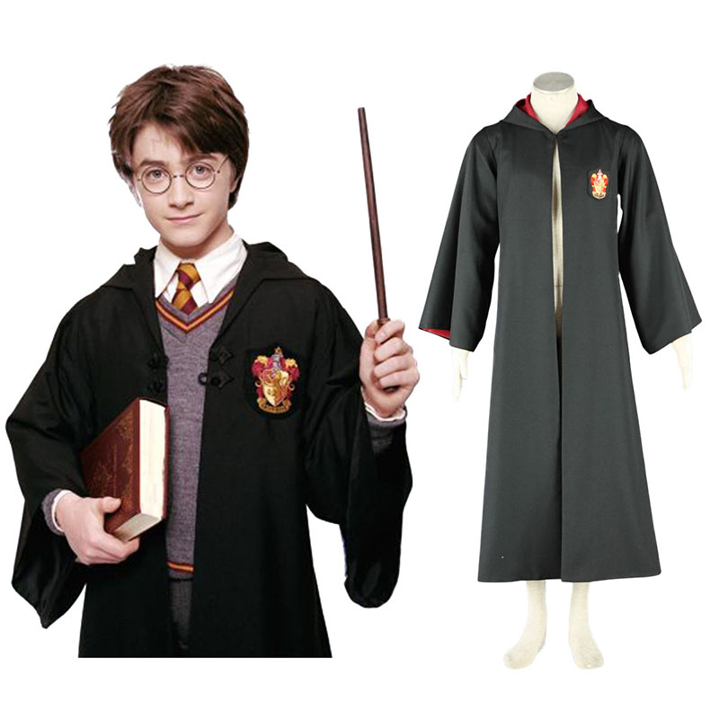 Déguisement Cosplay Harry Potter Gryffindor Uniform Cloak Boutique de France