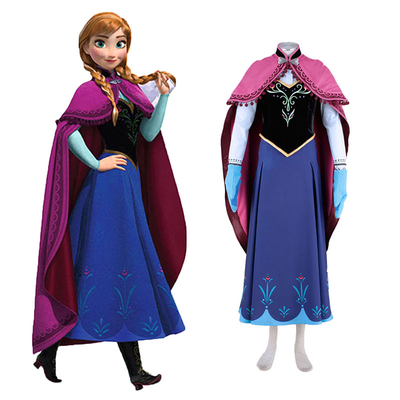 Déguisement Cosplay Frozen Anna 1 Boutique de France