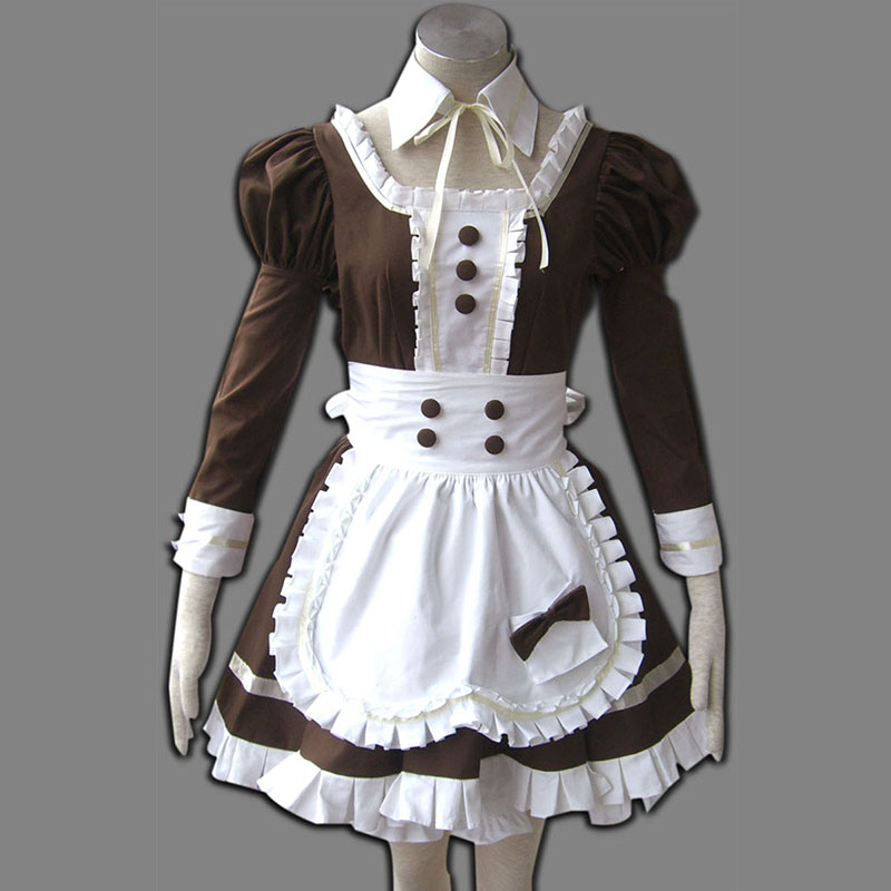 Déguisement Cosplay Maid Uniform 4 Coffee Whispery Boutique de France