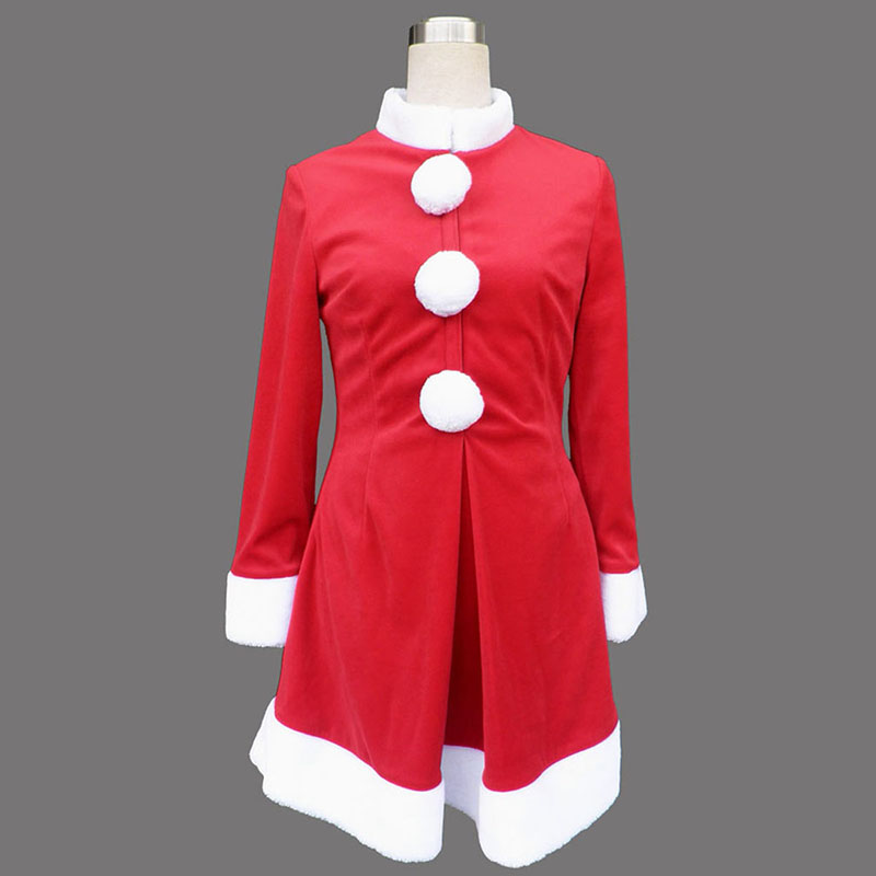 Déguisement Cosplay Rouge Lady robes de Noël 6 Boutique de France