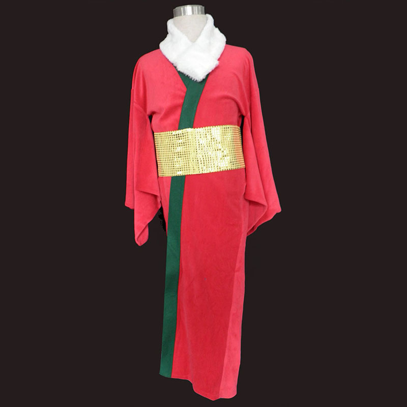 Déguisement Cosplay Christmas Rouge Kimono 1 Boutique de France