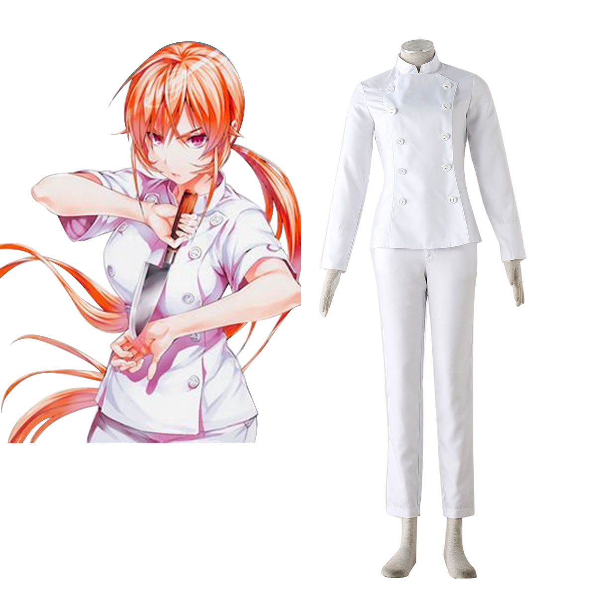 Déguisement Cosplay Shokugeki no Soma Erina Nakiri 1 Boutique de France