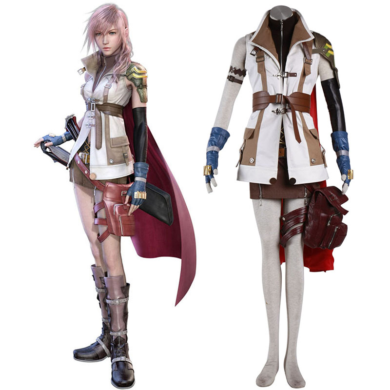 Déguisement Cosplay Final Fantasy XIII Lightning 1 Boutique de France