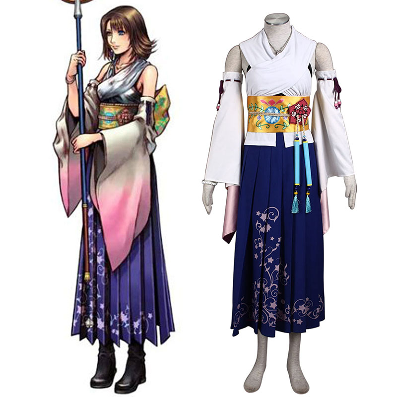 Déguisement Cosplay Final Fantasy X Yuna 1 Boutique de France