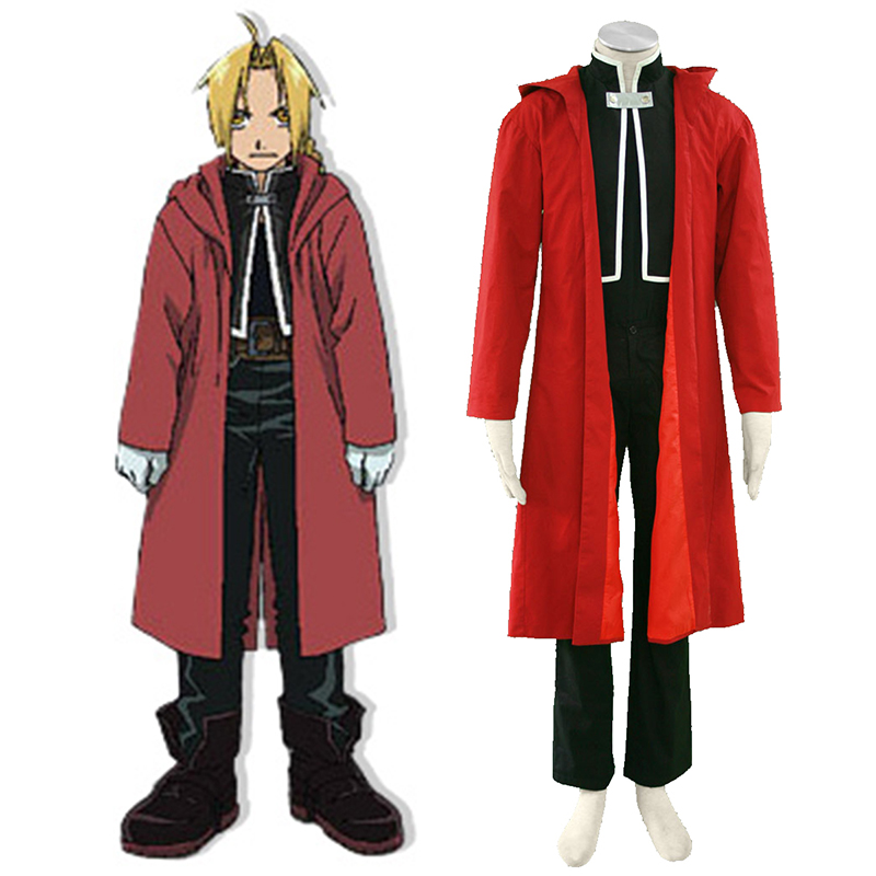 Déguisement Cosplay Fullmetal Alchemist Edward Elric 1 Boutique de France