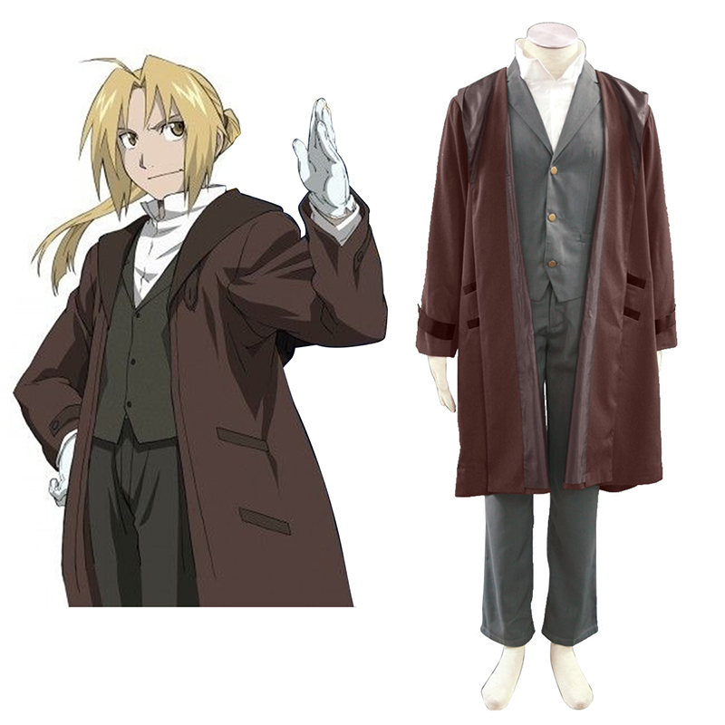 Déguisement Cosplay Fullmetal Alchemist Edward Elric 2 Boutique de France