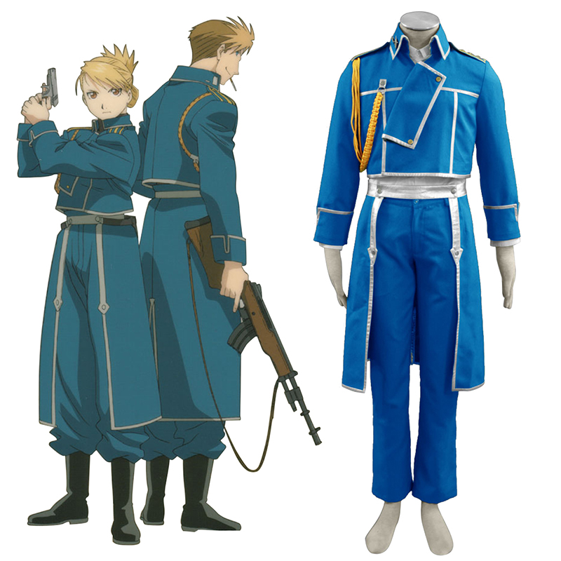 Déguisement Cosplay Fullmetal Alchemist Male Military Uniform Boutique de France