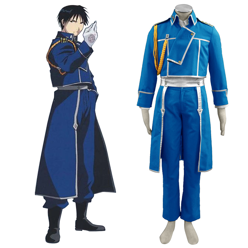 Déguisement Cosplay Fullmetal Alchemist Roy Mustang 1 Boutique de France