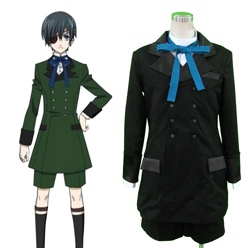 Déguisement Cosplay Black Butler Ciel Phantomhive 4 Boutique de France