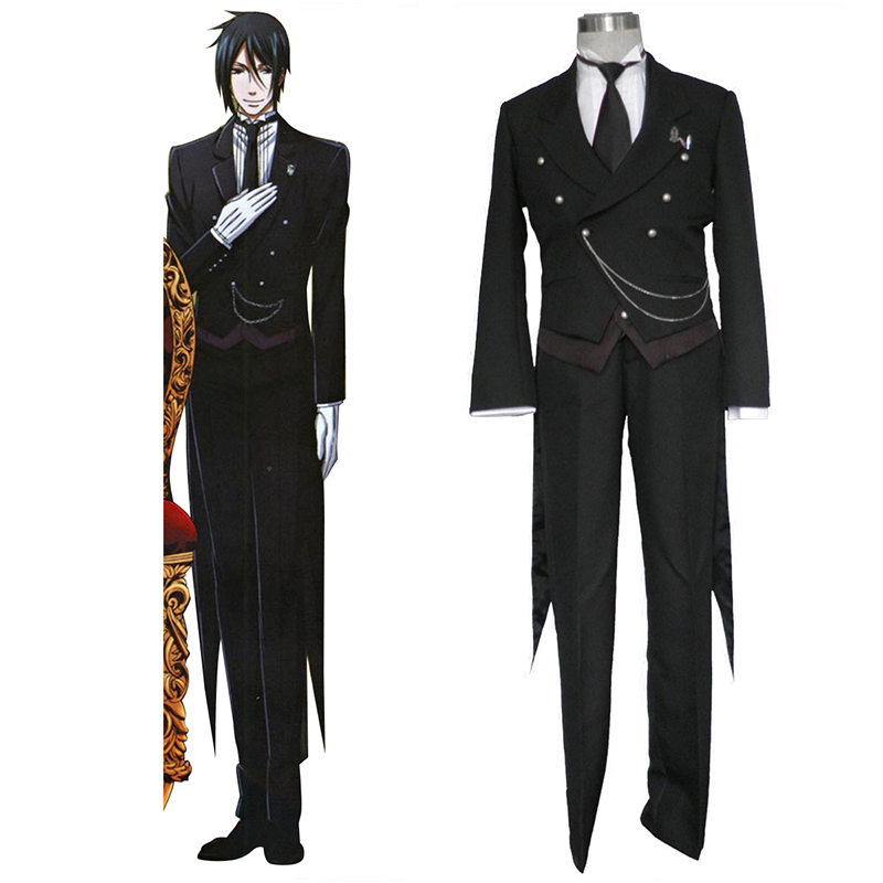 Déguisement Cosplay Black Butler Sebastian Michaelis 1 Boutique de France