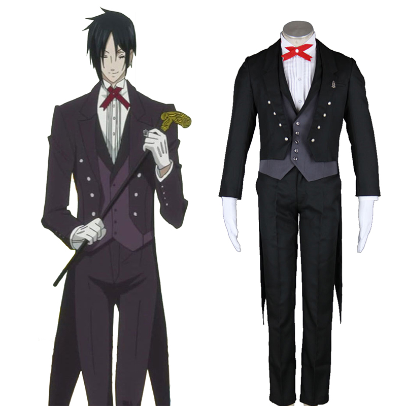 Déguisement Cosplay Black Butler Sebastian Michaelis 2 Boutique de France