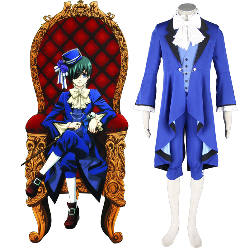 Déguisement Cosplay Black Butler Ciel Phantomhive 18 Boutique de France