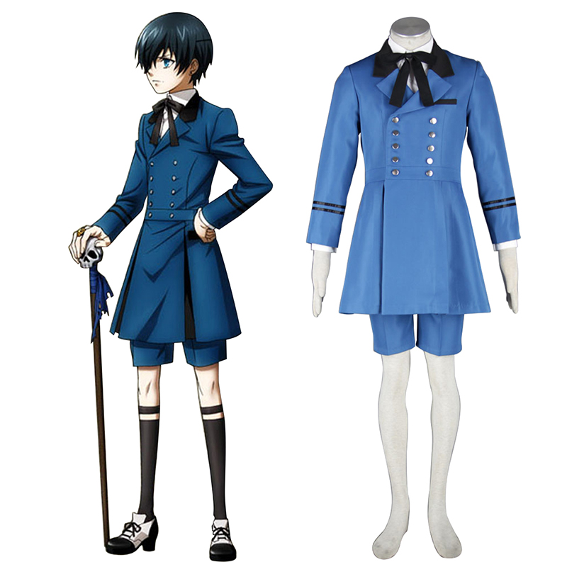Déguisement Cosplay Black Butler Ciel Phantomhive 5 Boutique de France