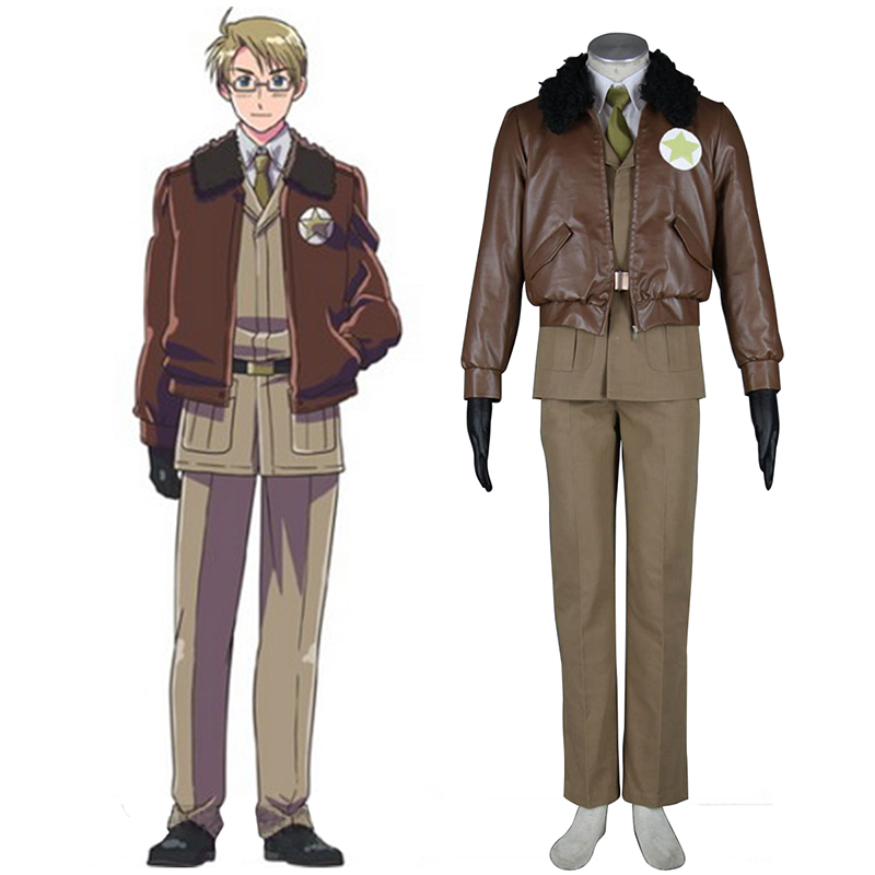 Déguisement Cosplay Axis Powers Hetalia APH America Alfred F Jones 1 Boutique de France
