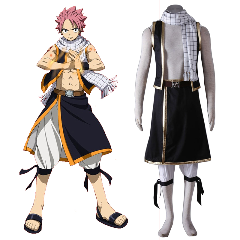 Déguisement Cosplay Fairy Tail Natsu Dragneel 1 Boutique de France