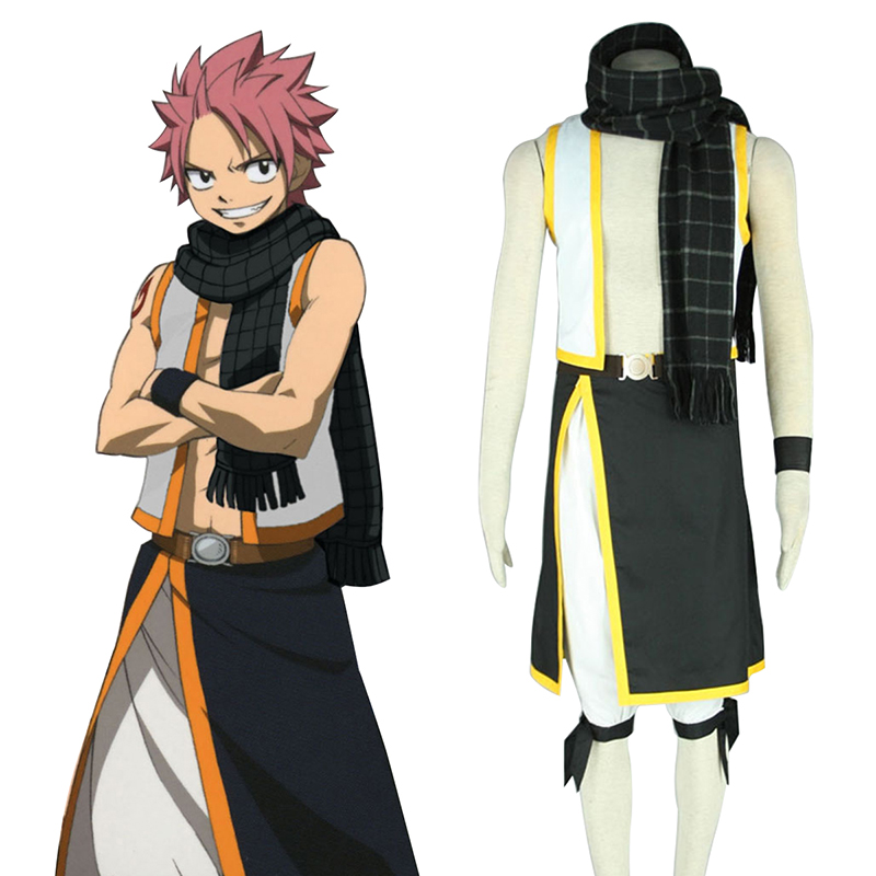 Déguisement Cosplay Fairy Tail Natsu Dragneel 2 Boutique de France