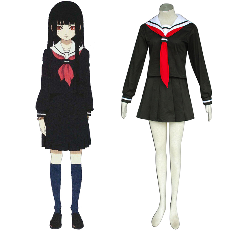 Déguisement Cosplay Hell Girl Enma Ai 2 Sailor Boutique de France
