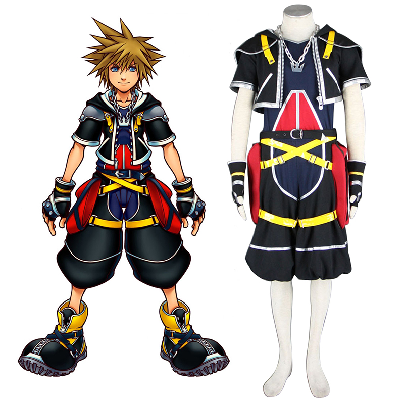 Déguisement Cosplay Kingdom Hearts Sora 1 Boutique de France