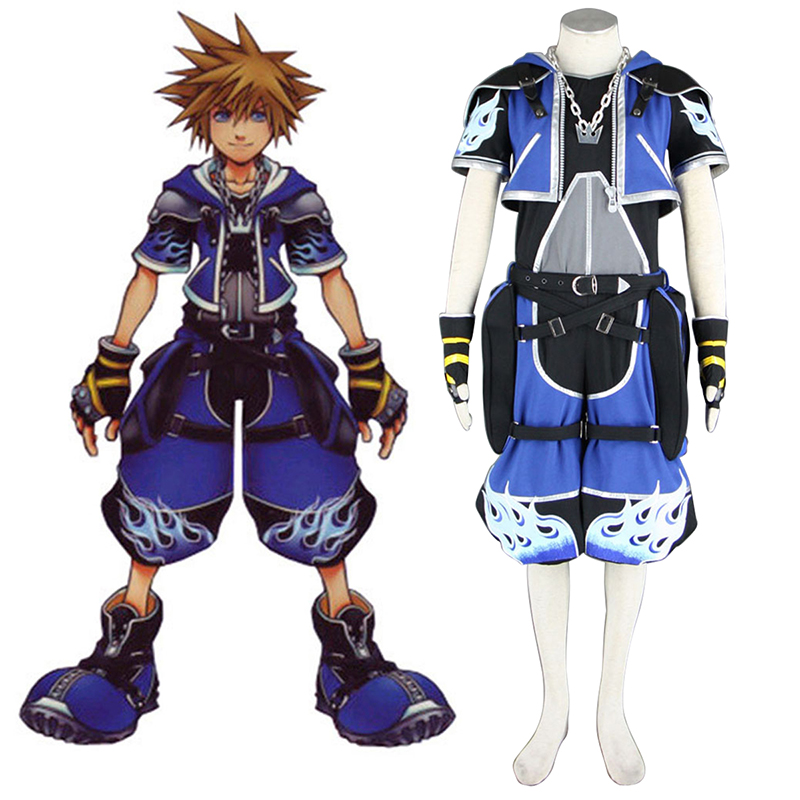 Déguisement Cosplay Kingdom Hearts Sora 2 Blue Boutique de France