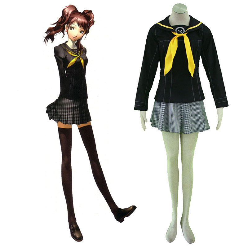 Déguisement Cosplay Shin Megami Tensei: Persona 4 Winter Femme Uniforme scolaire Boutique de France