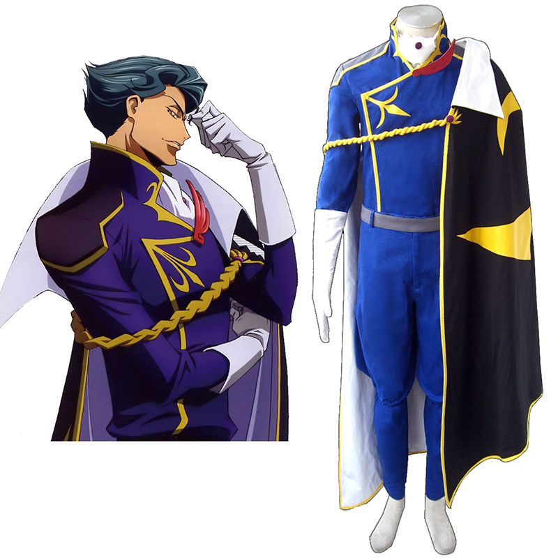 Déguisement Cosplay Code Geass Jeremiah Gottwald Boutique de France