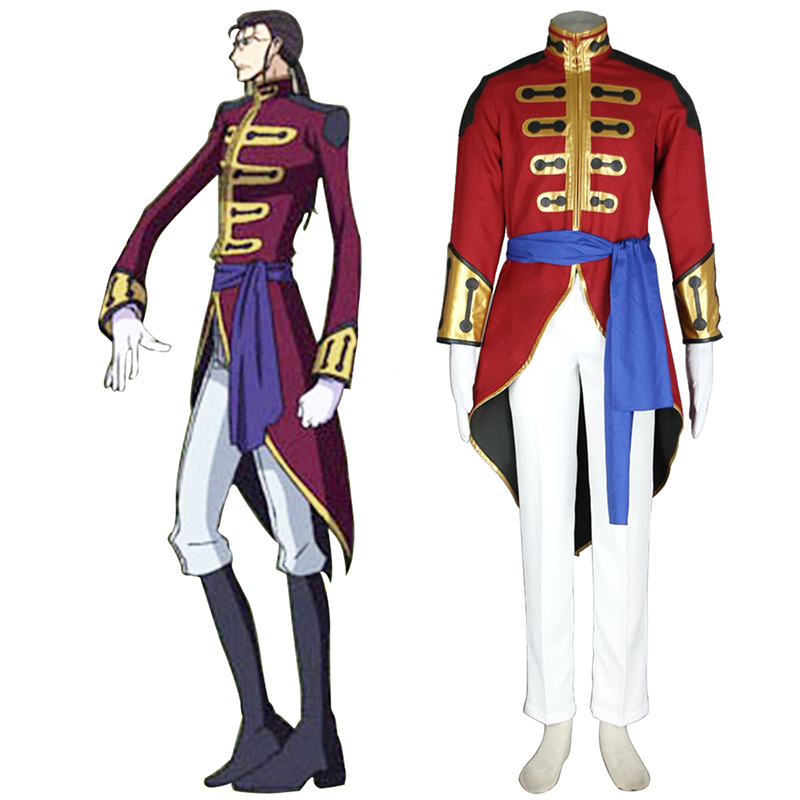 Déguisement Cosplay Code Geass Gilbert G.P. Guilford Boutique de France