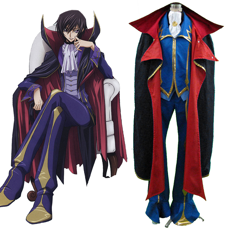 Déguisement Cosplay Code Geass Lelouch Lamperouge ZERO 2 Boutique de France