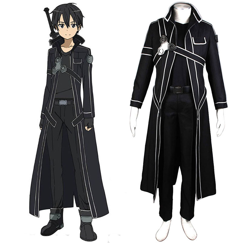 Déguisement Cosplay Sword Art Online Kirigaya Kazuto 1 Boutique de France