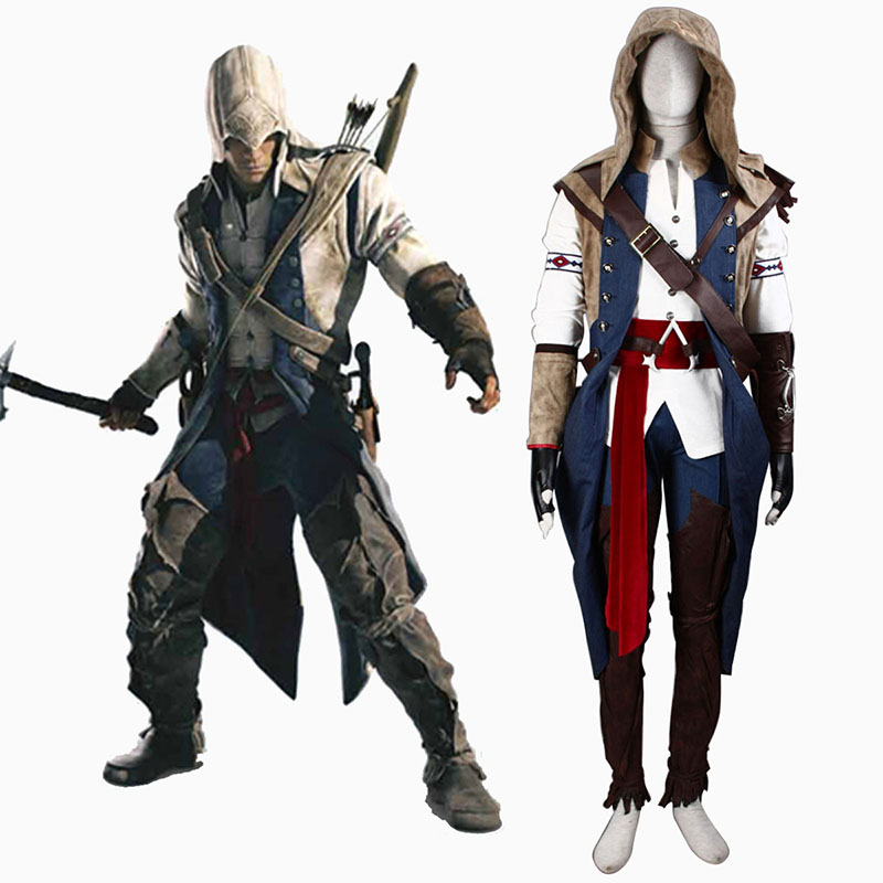 Déguisement Cosplay Assassin's Creed III Assassin 7 Boutique de France
