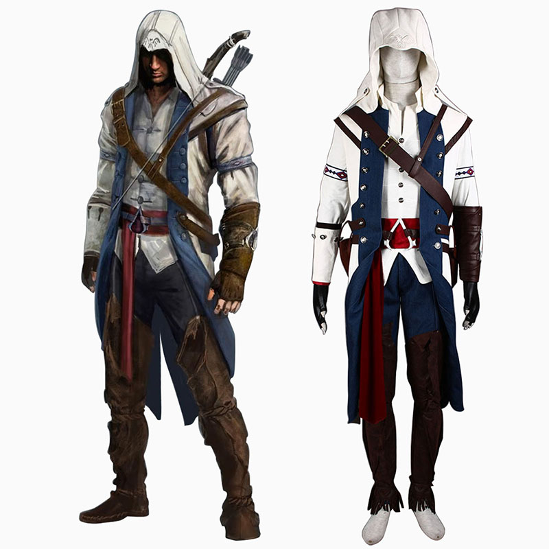 Déguisement Cosplay Assassin's Creed III Assassin 8 Boutique de France