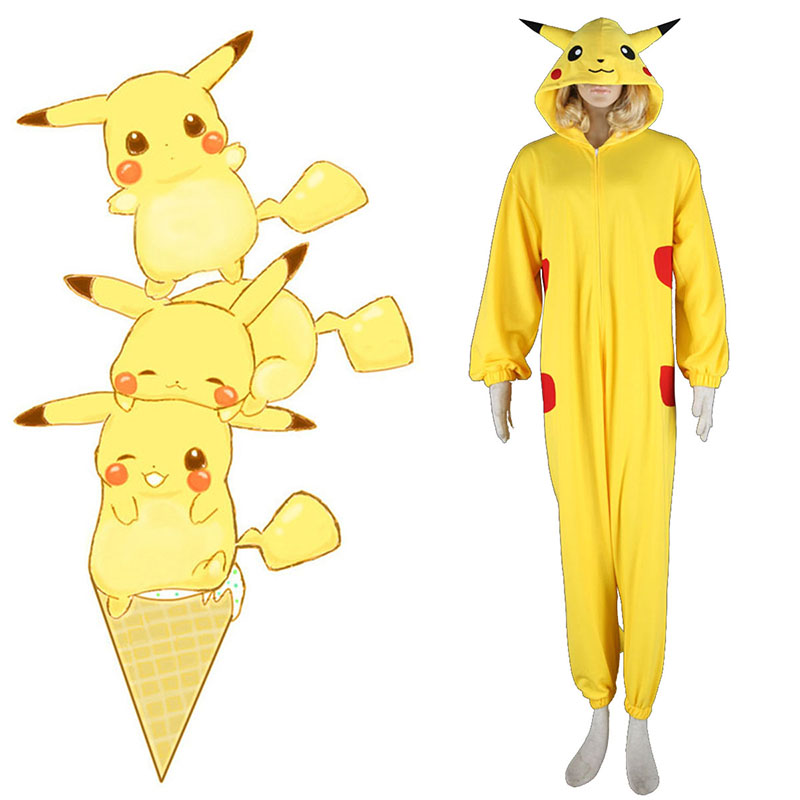 Déguisement Cosplay Pokémon Pikachu Pajamas 1 Boutique de France