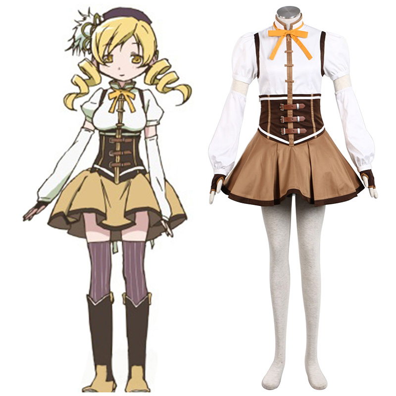 Déguisement Cosplay Puella Magi Madoka Magica Tomoe Mami 1 Boutique de France