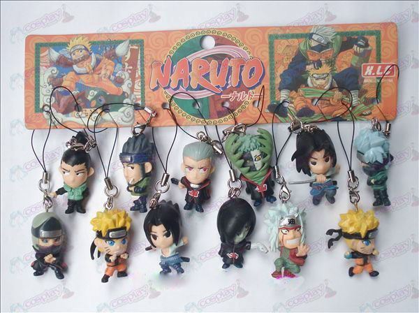 12 Naruto Doll corde de la machine (12 / set)