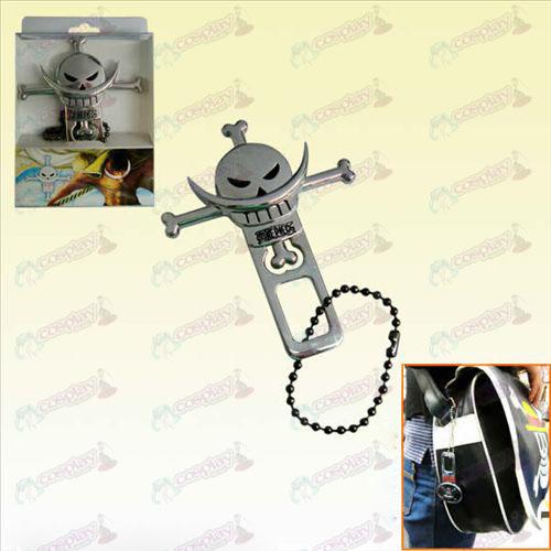 Accessoires One Piece voiture boucle de ceinture de barbe blanche ... cb5fd825faa