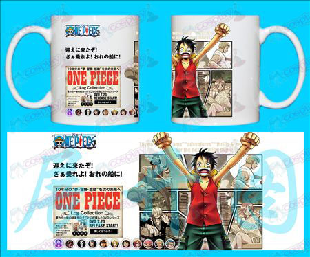H-One Piece Luffy Accessoires Tasses