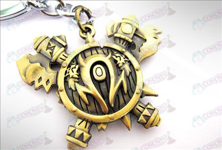 World of Warcraft Orcs Keychain accessoires