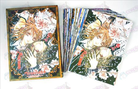 Accessoires Vampire knight Cartes postales + carte 2