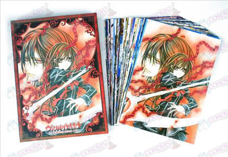 Accessoires Vampire knight Cartes postales + 1 carte