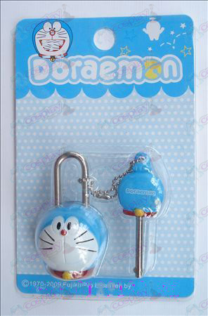 Serrures couple Doraemon (mobile)