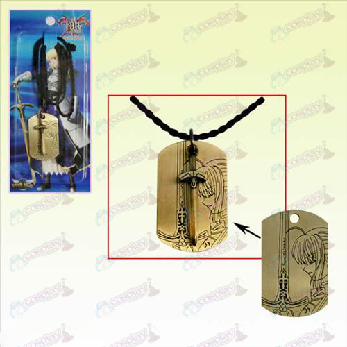 Steins; Porte Badges Tag Collier