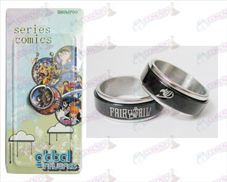 Accessoires Fairy Tail Black Steel transporteur Ring