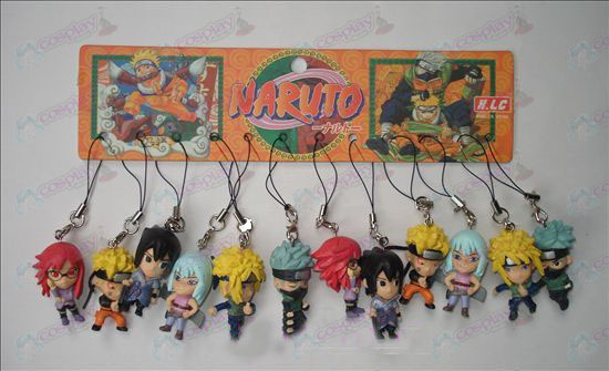 17 générations 12 Naruto Doll machine corde