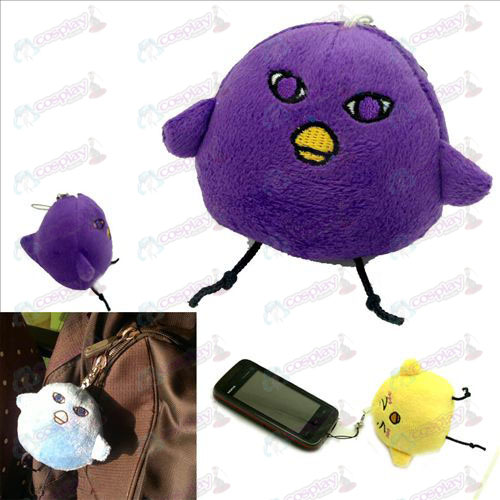 Original Purple germination Chick Charm peluche - taches solaires basket-ball