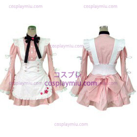 Sweet Plaid Maid Cosplay Lolita Déguisements